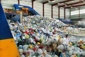 Завод по переработке вторсырья. Европа