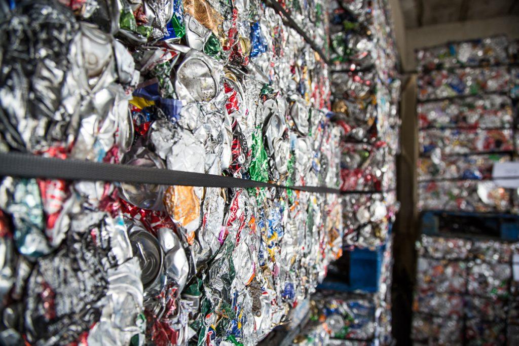 Спрессованный алюминий на переработку