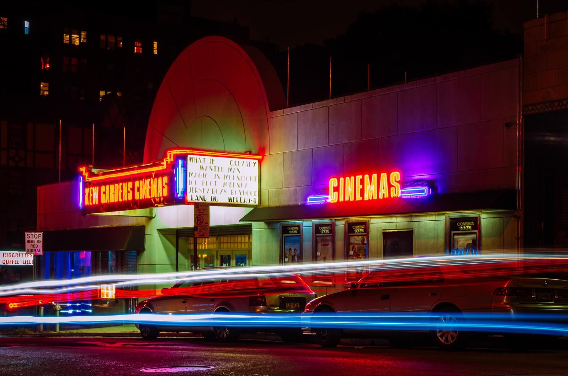 Кинотеатр неон