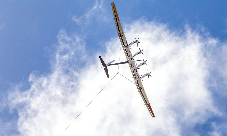 «Ветряк на привязи» Makani m600
